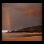Rainbow near The Headland